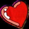 Arte de um Coração de The Legend of Zelda