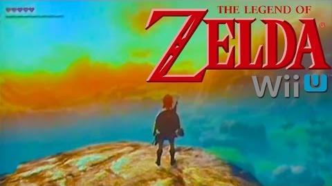 The Legend of Zelda Wii U Gameplay (Full Screen)