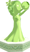 The Wind Waker Golden Goddess Statues Farore's Statue (Render).png