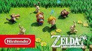 Tráiler extendido de The Legend of Zelda Link's Awakening (Nintendo Switch)