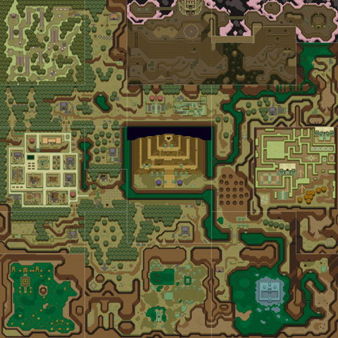 Mundo de las Tinieblas (A Link to the Past)