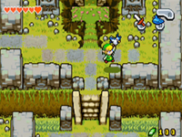 Zeffa llevando a Link