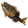 Breath of the Wild Roasted Fish (Bass) Roasted Hearty Bass (Icon)