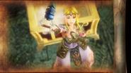 Zelda con el Hookshot HW E3