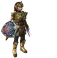 Twilight Princess Tunics Magic Armor (Render)
