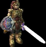 Twilight Princess Tunics Magic Armor (Render)