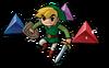 Link et Gemmes