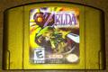 The Legend of Zelda - Majora's Mask Gold Holographic Cartridge