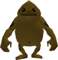A Goron from Ocarina of Time
