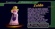 Zelda (Smash1-Tropähe aus SSBM)