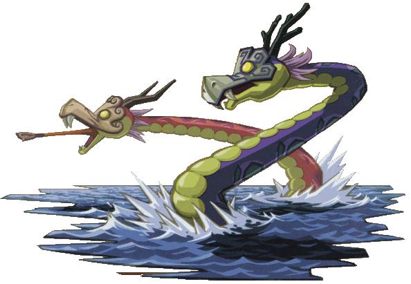 Griock, Dragon Bicéphale