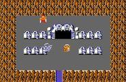 Link tocando la Grabadora en The Legend of Zelda