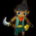 Hyrule Warriors Legends Tetra Standard Outfit (Grand Travels - Jolene Recolor)