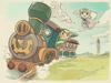 Link et Zelda locomotive 2