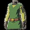 Breath of the Wild amiibo Rune Items (Hero of Wind Armor Set) Tunic of the Wind (Icon)