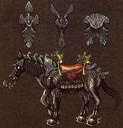 Cheval de Ganondorf TP HH