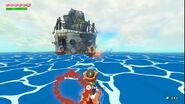 TWW-Link luchando en la isla de hierro