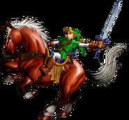 Epona y Link