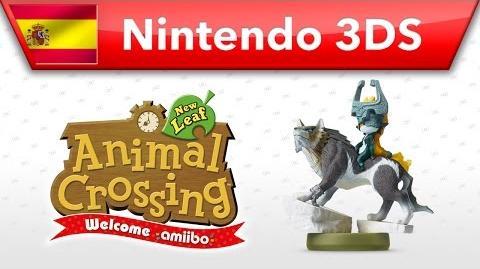 Animal Crossing New Leaf - Welcome amiibo - Link Lobo (Nintendo 3DS)