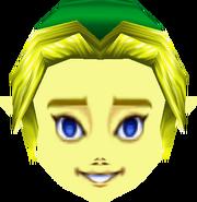 MM Mascara de Link niño de frente