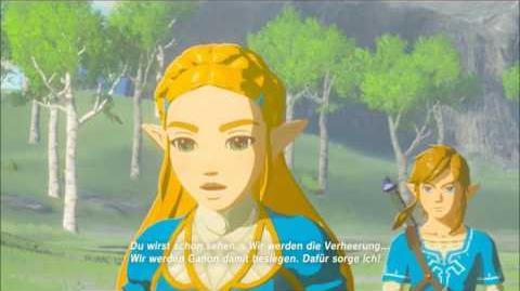 The Legend of Zelda Breath of the Wild - Zuversicht und Kummer Erinnerung Cutscene (Nr