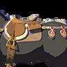 Breath of the Wild Key Items Royal Saddle (Icon)