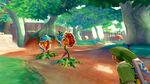 Link combatte contro le Deku Baba