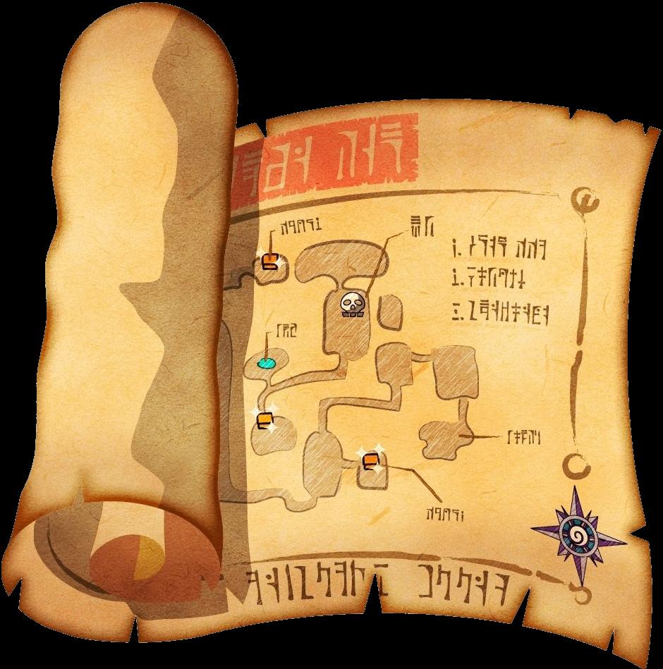 Mapa de la mazmorra