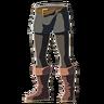 Breath of the Wild amiibo Rune Items (Classic Hero's Clothes Armor Set) Trousers of the Hero (Icon)