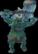 Skyward Sword Bokoblin Green Bokoblin (Render)