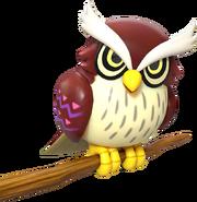 LANS Owl Render