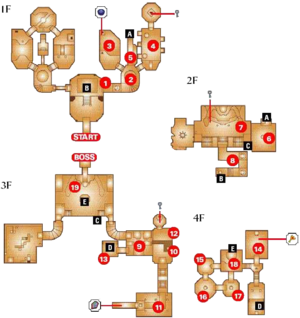 Map of the Spirit Temple