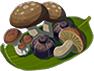 Hearty Steamed Mushrooms