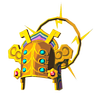 Breath of the Wild Key Item Thunder Helm (Icon)