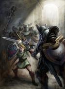 Link vs. Darknuts (Twilight Princess)