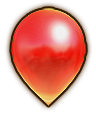 Hyrule Warriors Balloon Rosy Balloon (Level 1 Balloon)