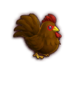 Hyrule Warriors Cuccos Brown Cucco (Dialog Box Portrait)