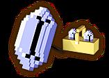 Hyrule Warriors Parasol 8-Bit Rupee (8-bit Parasol)
