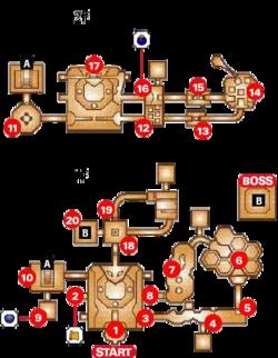 Map of Dodongo's Cavern