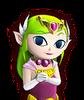 Portrait Zelda Cartoon HWL1