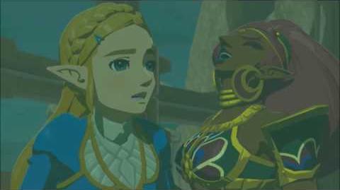 The Legend of Zelda Breath of the Wild - Urbosa Erinnerung Cutscene (Nr