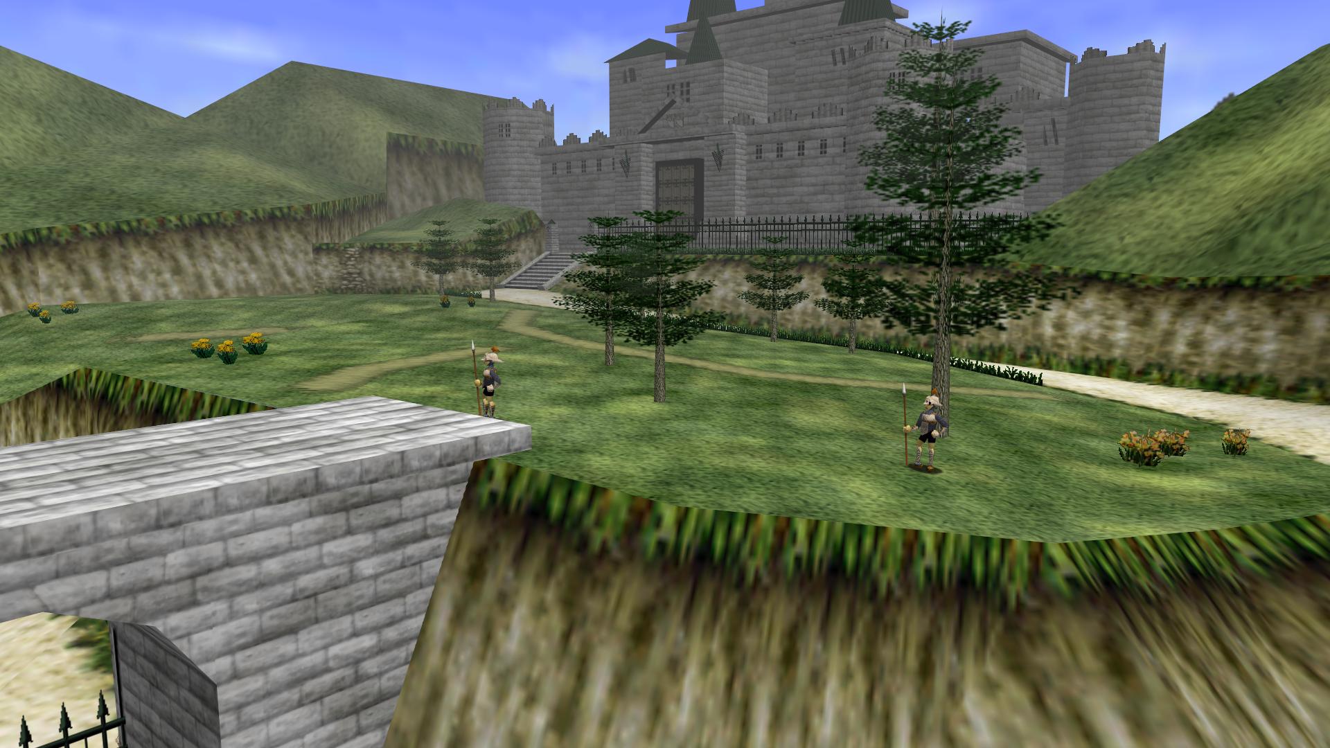 Castle Grounds Zeldapedia Fandom