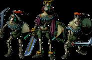 Igos du Ikana y sus sirvientes artwork MM 3D