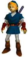 Link adulto OoT (túnica Zora)