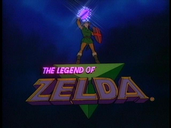 Title card for the animated series