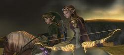 Zelda, Link y Epona TP.jpg