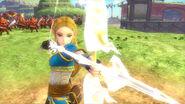 Zelda usando el arco HWDE