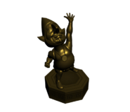Hyrule Warriors Tingle Tingle Statue (Model Render)