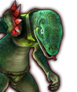 Hyrule Warriors Lizalfos (Dialog Box Portrait)