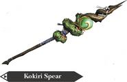 Hyrule Warriors Spear Kokiri Spear (Render)